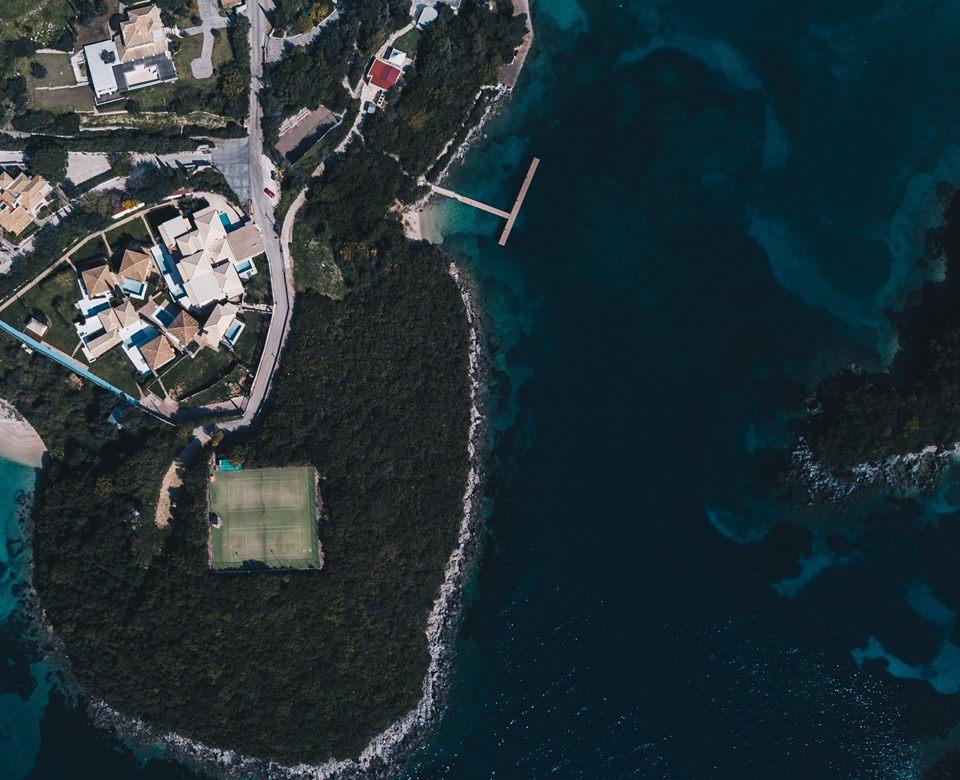 For sale sea view apartment 58.5m2 in Sivota 115.000 euro.(066)
