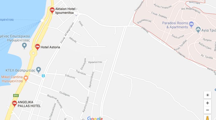 For sale 60m2 apartment in Grekohori  Igoumenitsa 55.000 Euro.(053)