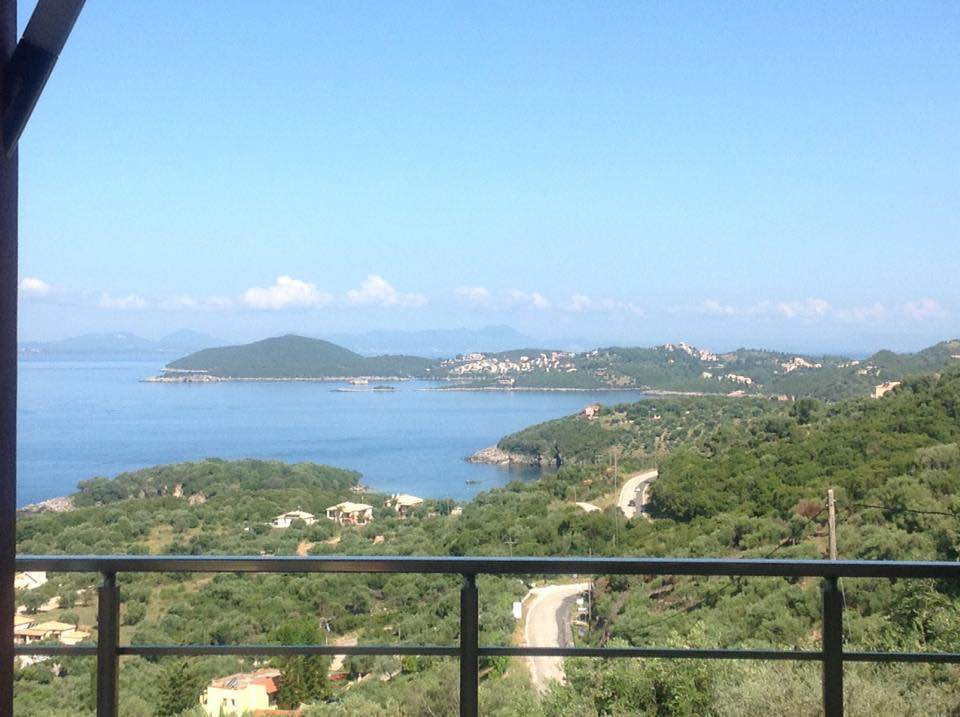 For sale plot of 4.200m2 in Agia Paraskevi with unlimited view  of the Ionian Sea 250.000 Euro. (092)