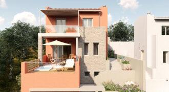 For sale new maisonette of 147,40 m2 in Perdika (095)