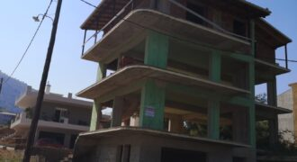For sale unfinished house of 170 m2 in Igoumenitsa.